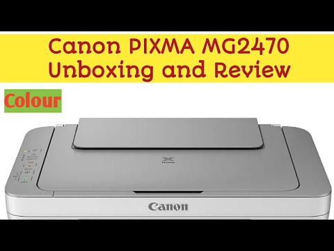 Canon Printer Unboxing & Review