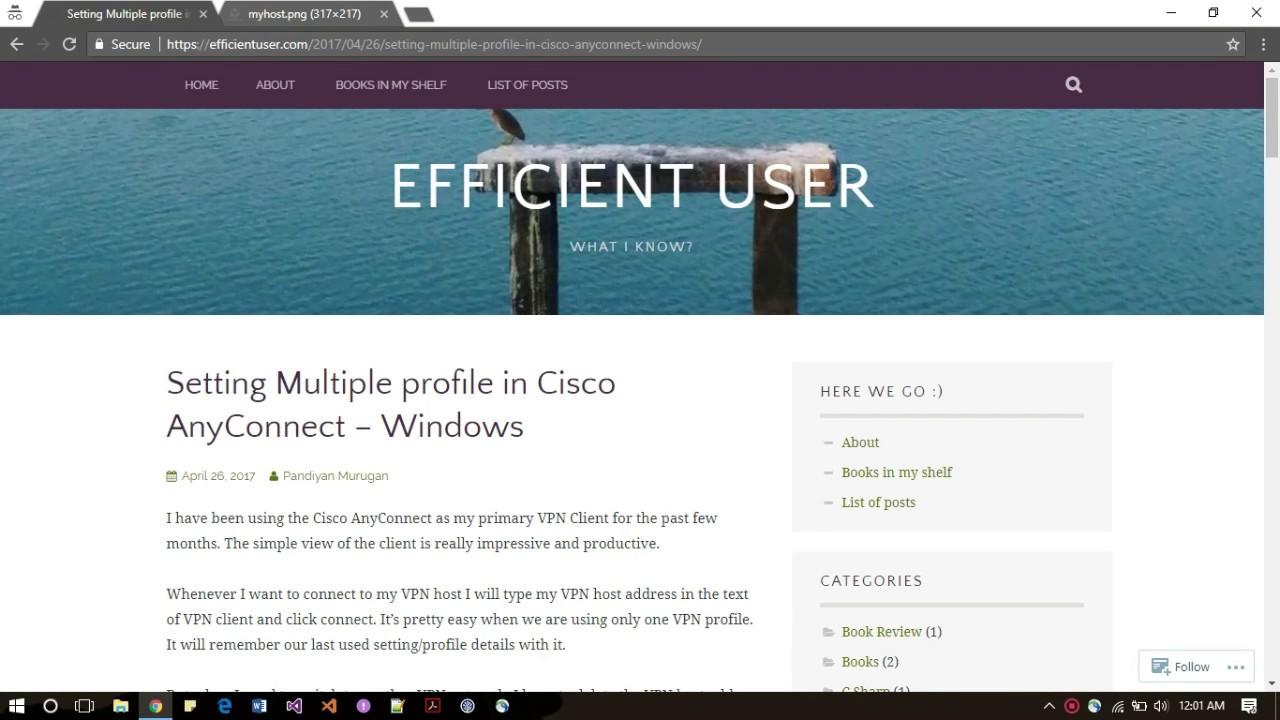 cisco anyconnect windows 10 profile location