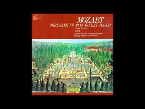 Mozart: Serenade No. 10 'Gran Partita' - Collegium Aureum (1973)