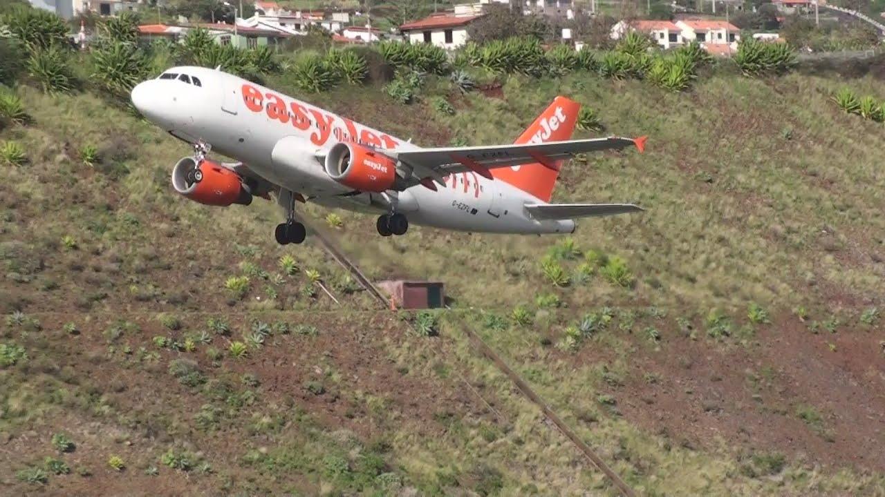 Aeroporto Da Madeira Easyjet Falhou Aterragem Madeira Airport