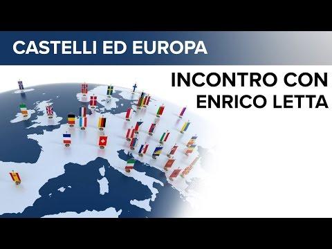 Castelli ed Europa - Incontro con Enrico Letta del 17/08/2016 - Lari
