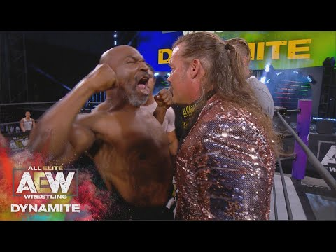 WHAT HAPPENED WHEN MIKE TYSON STEPPED INTO THE AEW RING? |   AEW DYNAMITE 5/27/20, JACKSONVILLE, FL