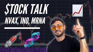 Stock Talk: Novavax  Nvax , Inovio  Ino , Moderna  Mrna , Vaxart  Vxrt  & Sorrento  Srne