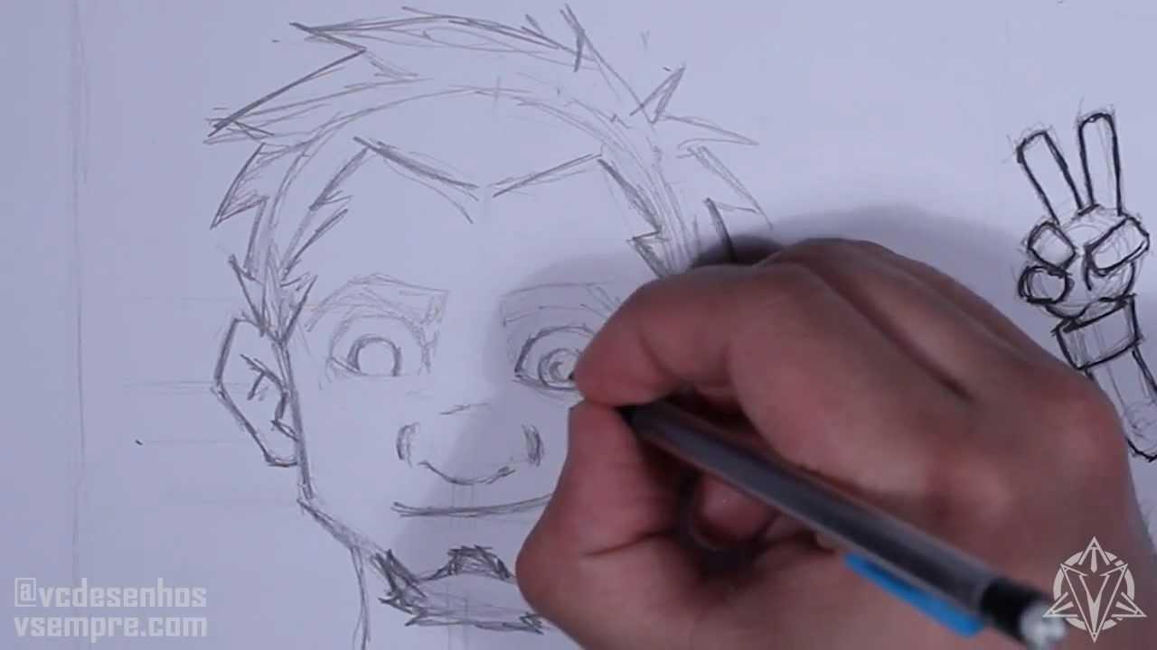 Aula De Desenhos 02 Personagens E Rostos