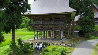 【DRONE:17】常慶院の山門を見学中