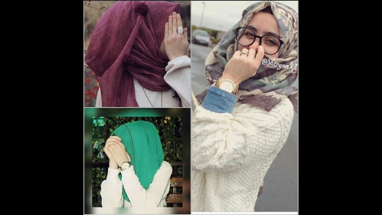 Wallpaper Hijab Girls Photos Dp