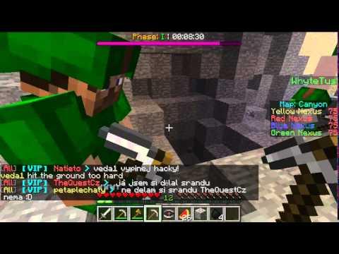 Minecraft Annihilation 4# Canyon je nejlepší mapa !! :D