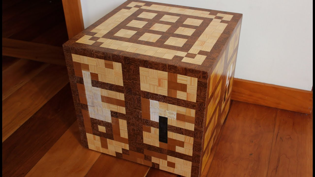 Poradnik minecraft jak krok po kroku zrobi crafting table i deski youtube - Crafting table on minecraft ...
