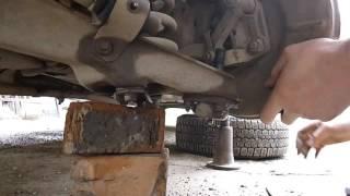 Замена нижней шаровой опоры на ВАЗ 2107