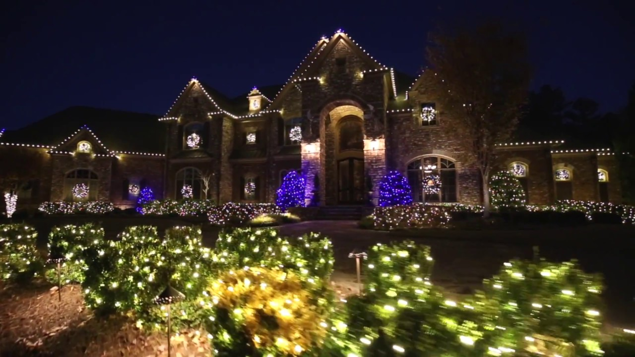 Lights Over Atlanta Christmas Lights - YouTube