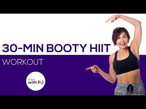 30-Minute Booty HIIT Workout with No Equipment