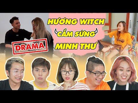 REACTION: Hương Witch giật bồ Minh Thư