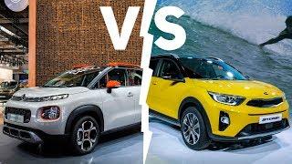 Kia Stonic vs. Citroen C3 Aircross | Sfida crossover