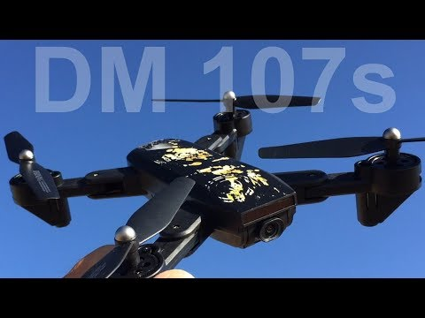 DM 107s Foldable wifi FPV 2mp Altitude hold drone