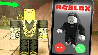 CALLING ROBLOX TO GET MY STOLEN HAT BACK! *THEY HUNG UP ON ME!*