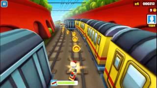 Değişik Oyunlar !! Subway Surf PC Bölüm 1: SUPER..