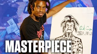 Denzel Curry Draws Amazing Self-Portrait for 'ZUU' Album