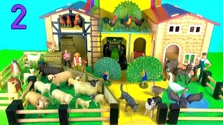 24 Farm Animals Surprise Toys 3D Puzzle Chickens Dog Goat Sheep Llama Donkey Peacocks Geese Alpaca