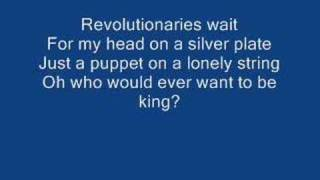 Repeat youtube video Viva La Vida (Lyrics)