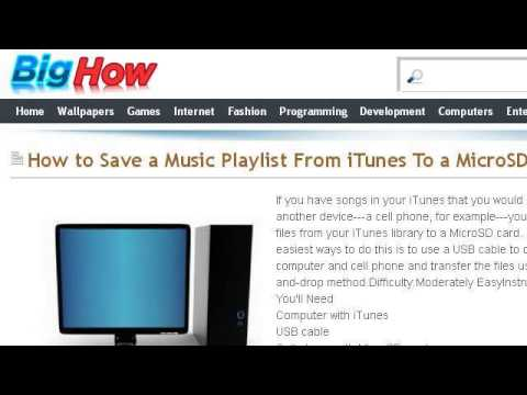 save playlist from iPod to reinstalled iT… - Apple Community