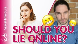 Should You Lie About Your Age Online? How To Attract Men Online