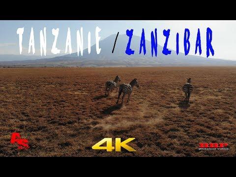 Tanzanie + Zanzibar - 2018 - Drone - 4K