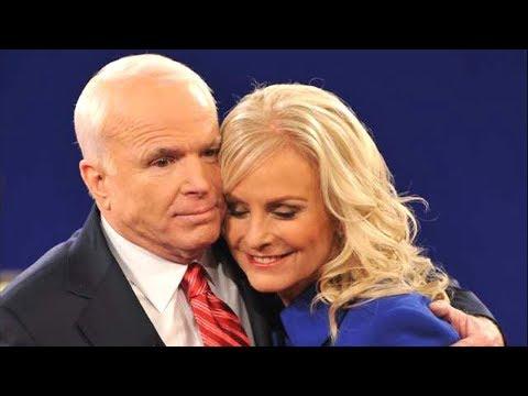 Who is Cindy McCain, John McCain's widow?