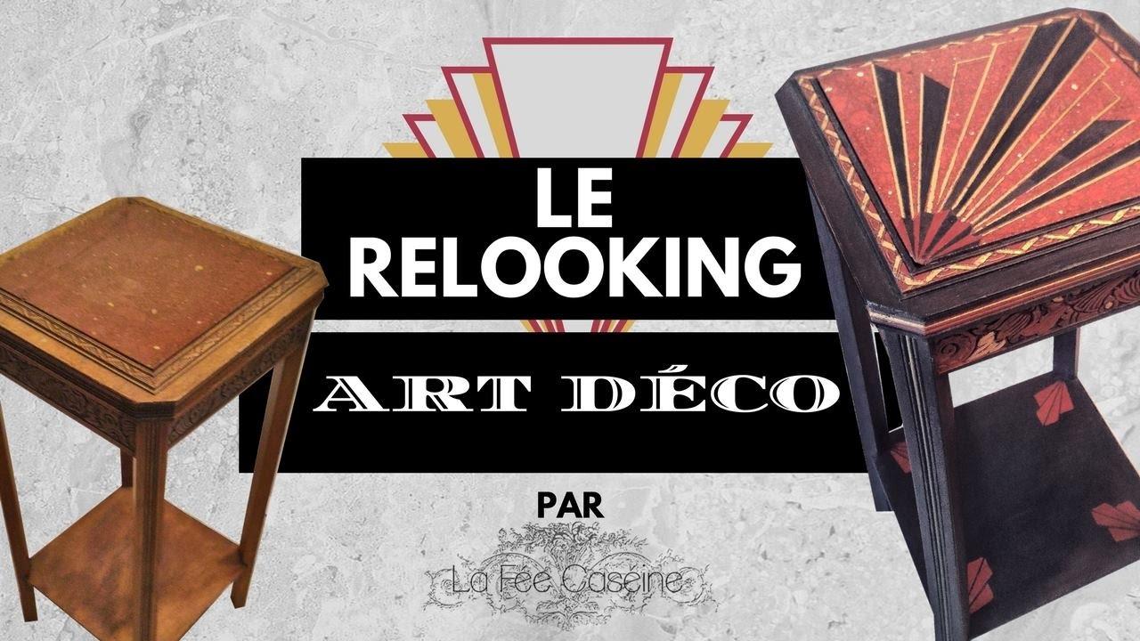 Relooker Un Meuble Avec Plateau En Marbre sortie d'atelier : relooking d'une sellette art déco ! - la
