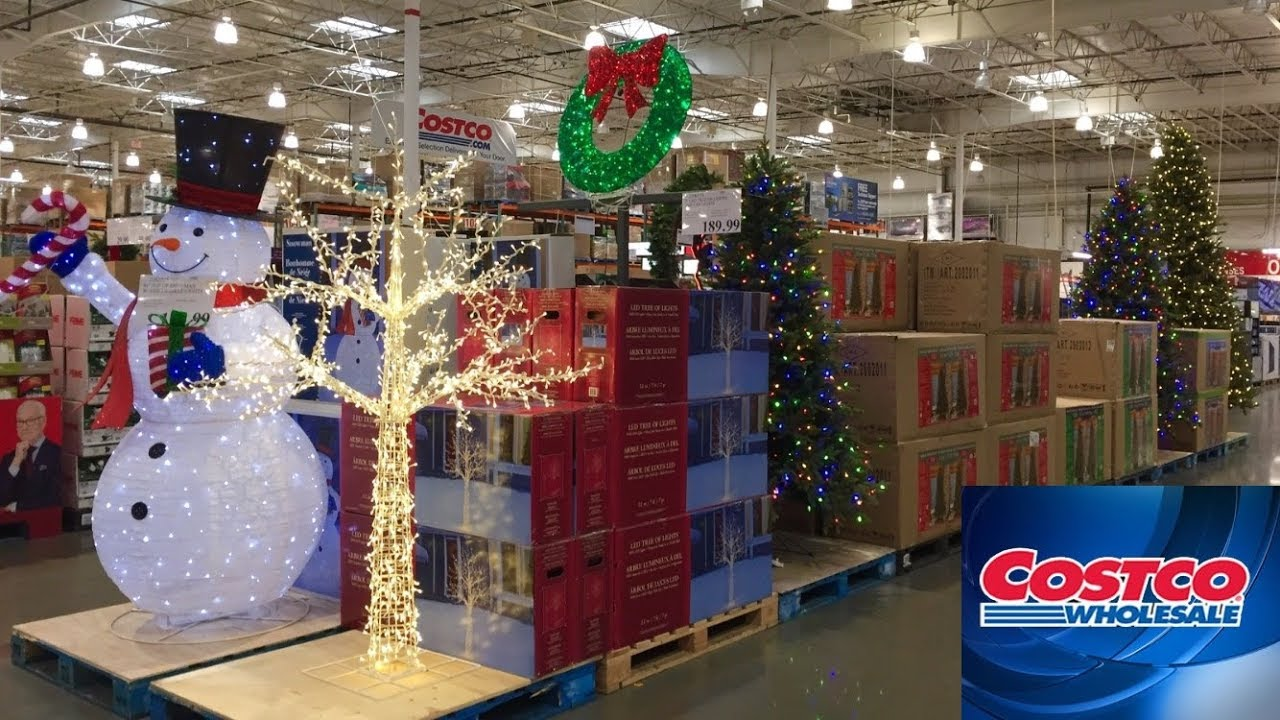 Costco New Christmas 2019 Trees Decorations Home Decor Shop With Me Shopping Store Walk Through 4k