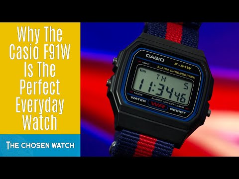 The Perfect Affordable Everyday Watch - Casio F91W