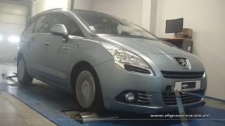 Peugeot 5008 1.6 thp 156cv AUTO Reprogrammation Moteur @ 174cv Digiservices Paris 77 Dyno
