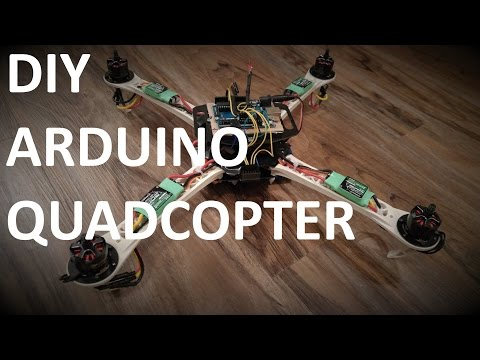DIY Do It Yourself - ARDUINO UNO QUADCOPTER | Part 5 - Connecting the Quadcopter Parts