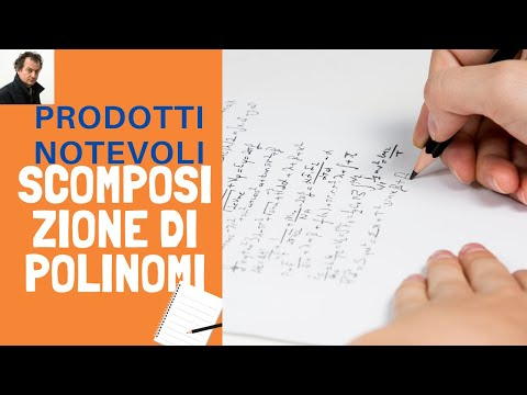 Scomposizione di polinomi from YouTube · Duration:  4 minutes 43 seconds