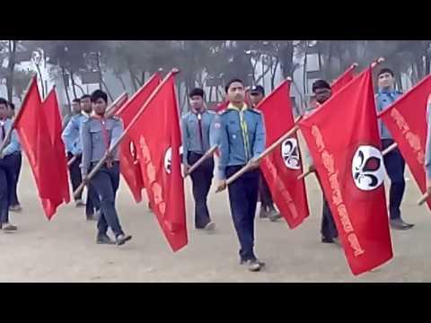 Parade by Bangladesh