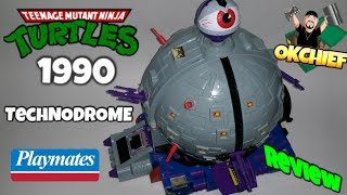 1990 Teenage Mutant Ninja Turtles Technodrome Review - Okchief