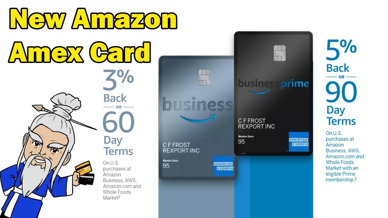 New Amazon Business Credit Card From American Express Youtube