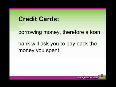 Teaching Kids The Difference Between Debit And Credit Cards Mp4