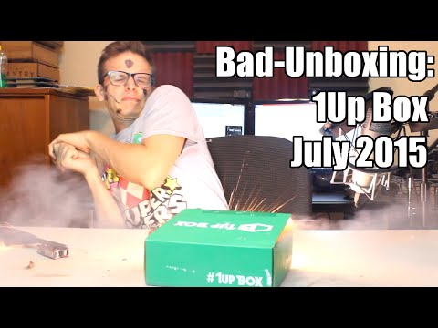 Bad Unboxing - 1Up Box [July 2015]