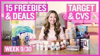 ★ 8 FREEBIES - Target & CVS Coupon DEALS (Week 9/30 - 10/6)