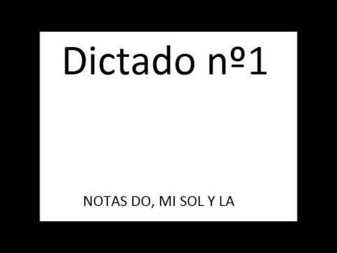 Dictado nº1