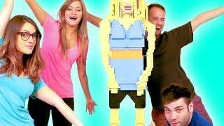 LIFE SIZE LEGO iJUSTINE! | iJustine