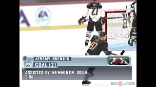 NHL 2001 - Gameplay PSX (PS One) HD 720P (Playstation classics)