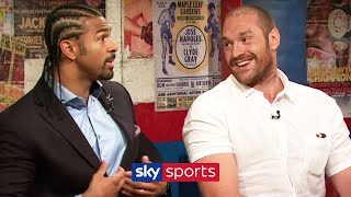 REVISITED! Tyson Fury & David Haye's war of words prior to their proposed fight in 2013