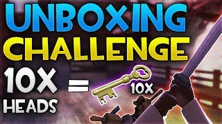 TF2 DEMOKN GHT UNBOX NG CHALLENGE 1 HEAD  1 CRATE