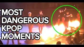 Video Most Dangerous Kpop Moments download MP3, 3GP, MP4, WEBM, AVI, FLV Juni 2018