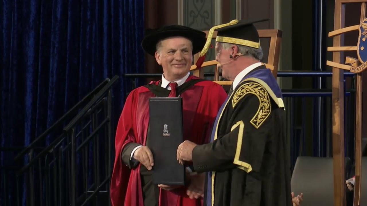 Graduation Occasional Address by John McHutchison