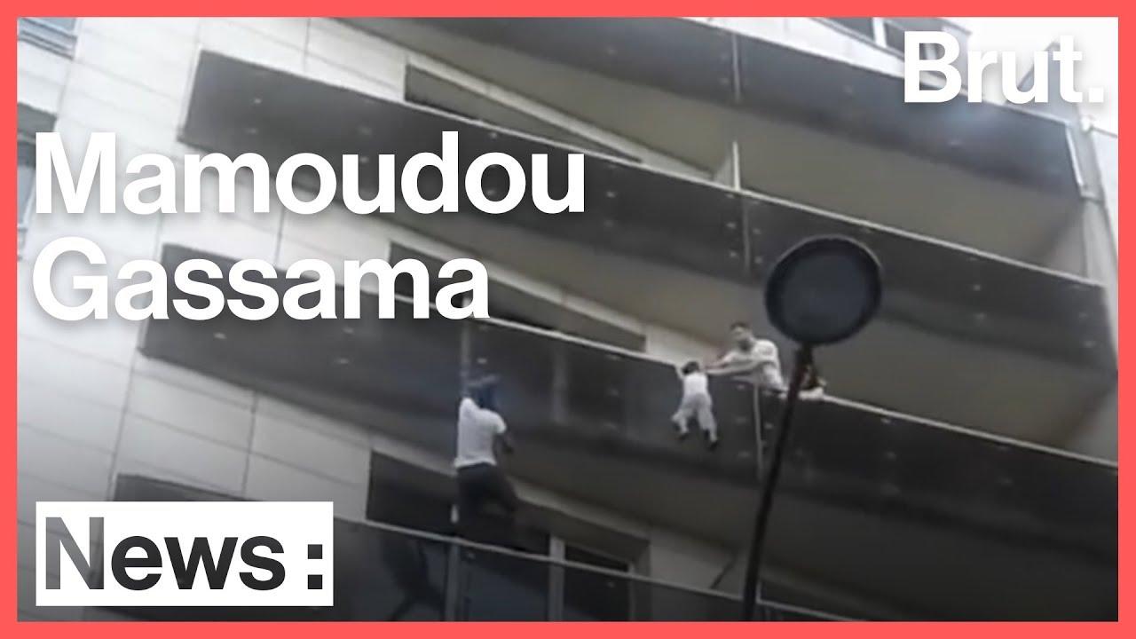 Mamoudou Gassama, le sauveur de l'enfant suspendu à un balcon