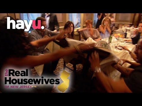 Teresa Giudice Flips The Table In Anger! | The Real Housewives of New Jersey