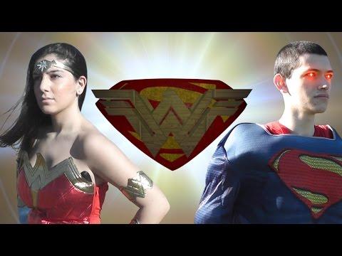 Wonder Woman vs Superman in real life (Full Fight / Live Action Superhero Death Battle)