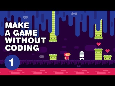 How To MAKE A VIDEO GAME Without Coding - 2D Platformer - Construct 3 Tutorial For Beginners PART 1